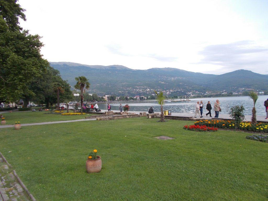 Ohrid,nábřeží