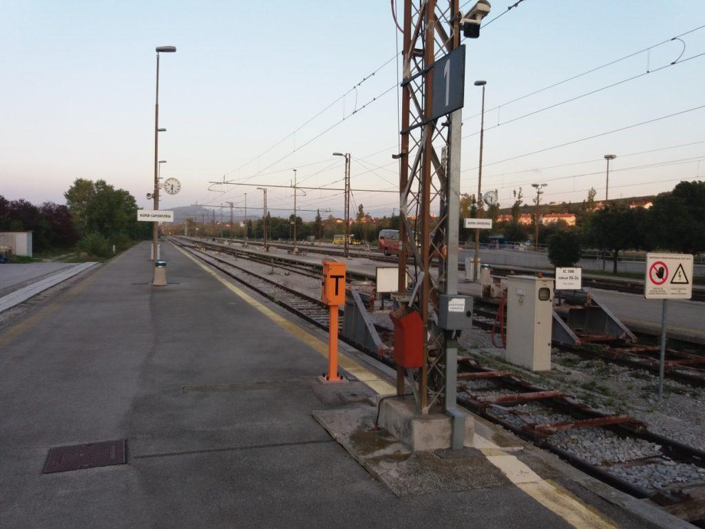 Koper,vlaková stanice