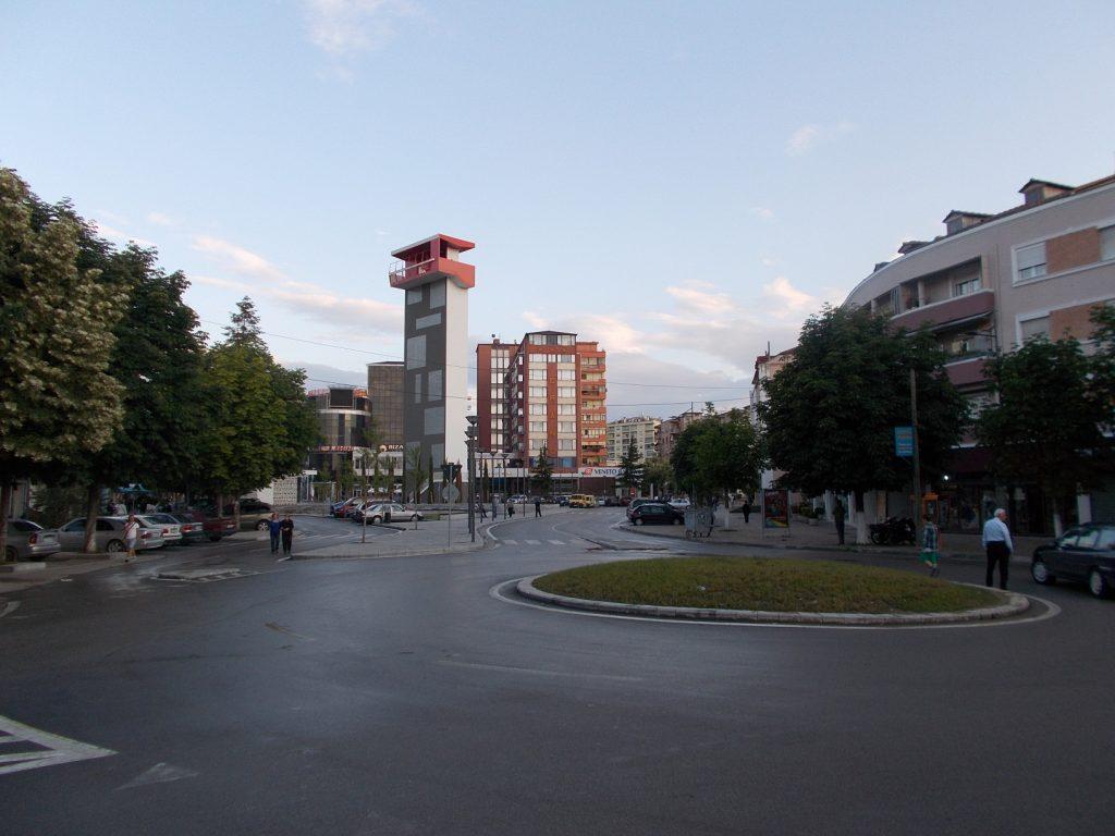 Korcë,vyhlídková věž