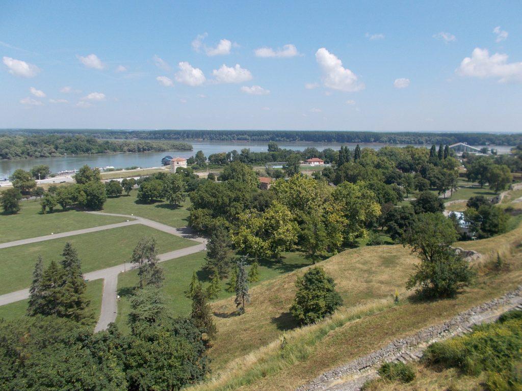 Bělehrad,soutok Sávy a Dunaje