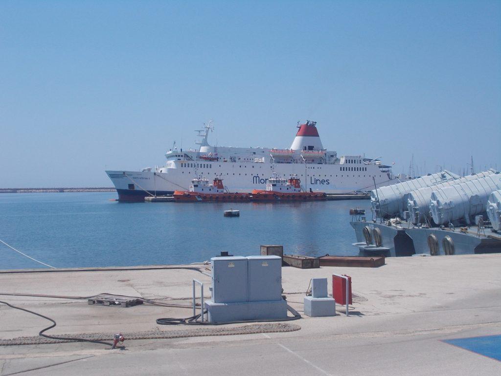 Bar,přístav