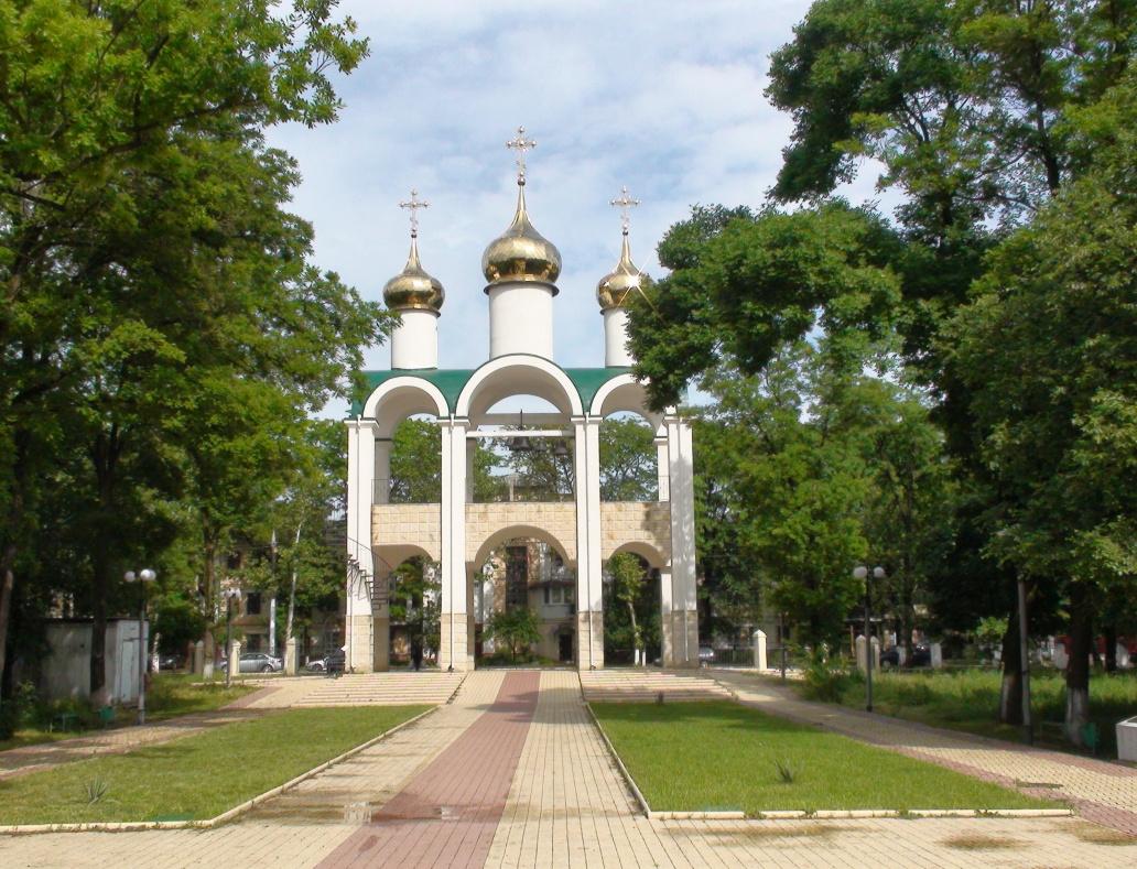Tiraspol,park Kirov,zvonice