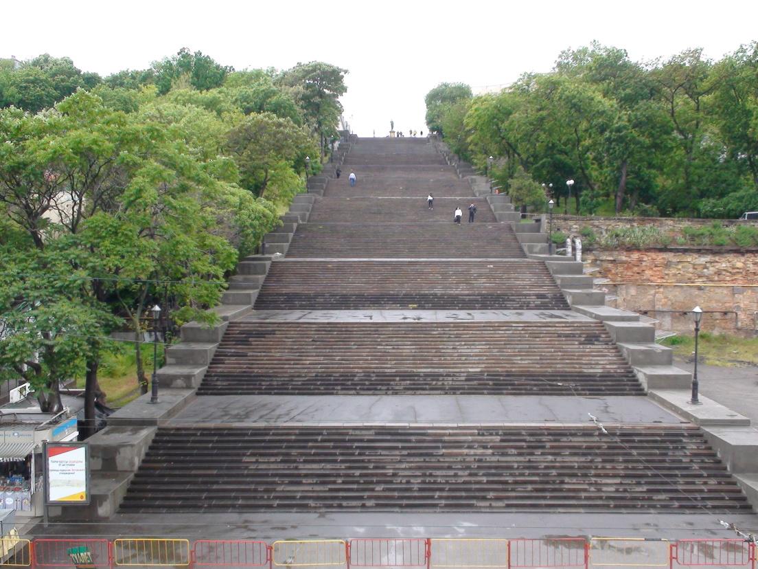 Oděsa,Potěmkinovy schody