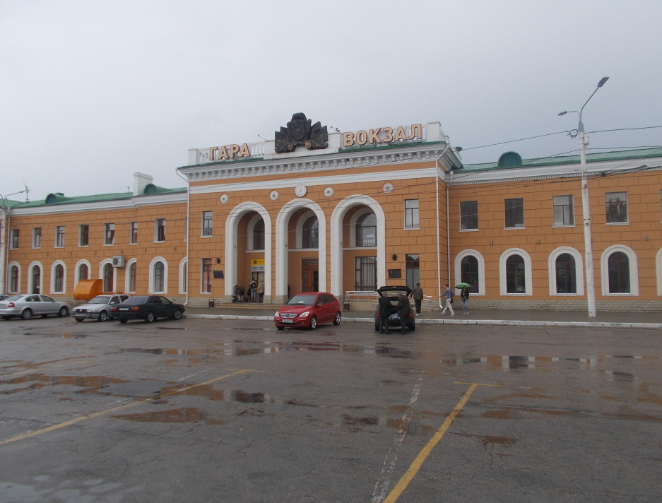 Tiraspol,vlakové nádraží