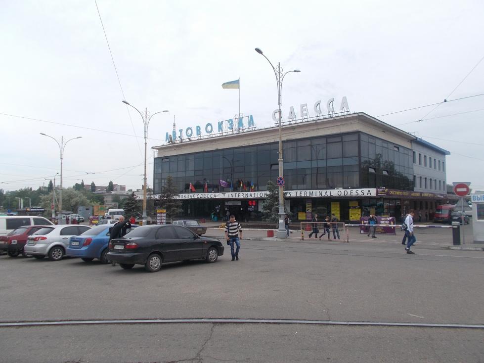 Oděsa,autobusové nádraží