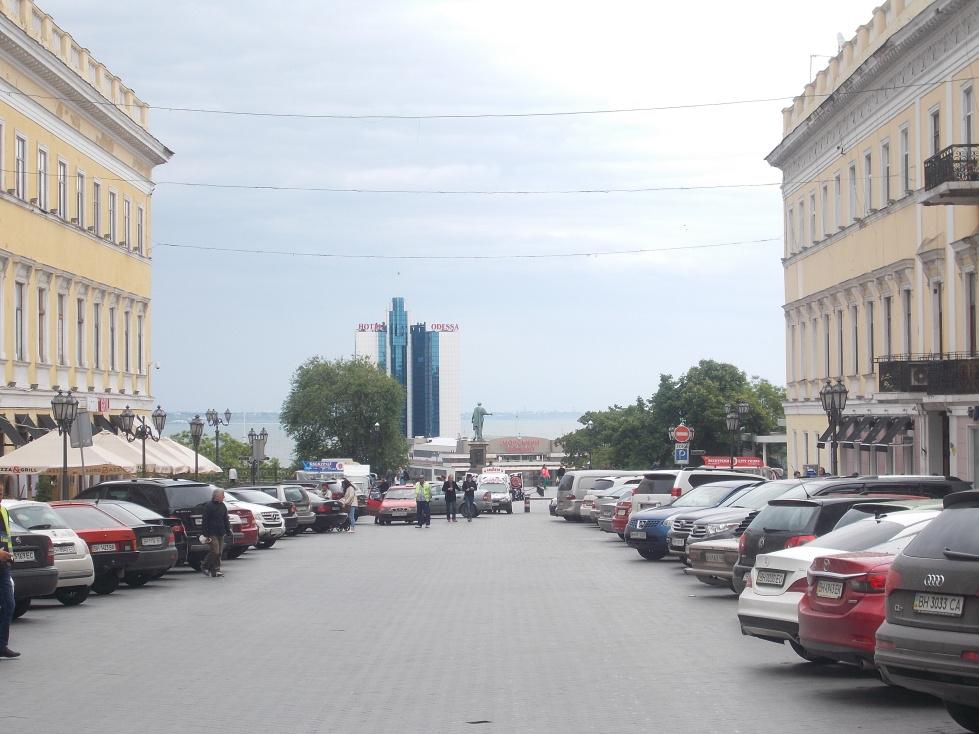 Oděsa,ulice Kateřiny II.