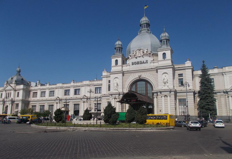 Lvov,vlakové nádraží