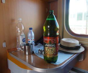 Lvov,lůžkový vagón,Lvovskoje pivo