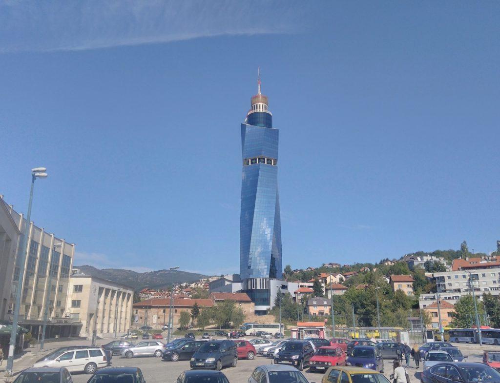 Sarajevo,Avaz Twist Tower(142m)