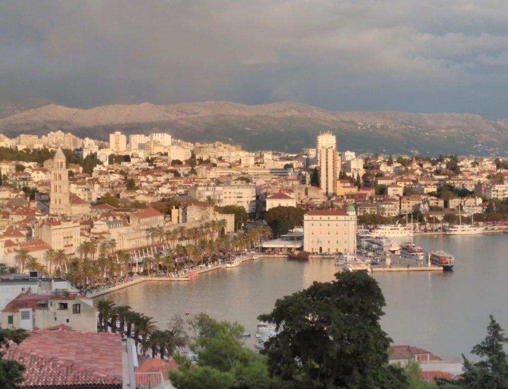 Split,výhled z Marjanu