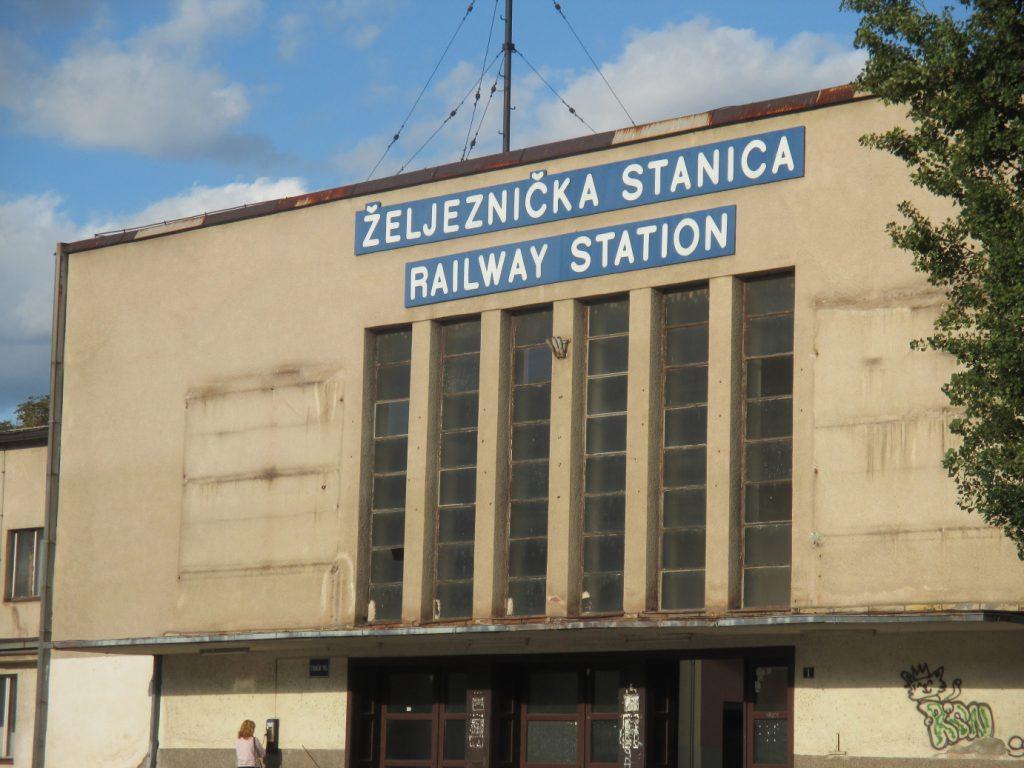 Zenica,vlaková stanice
