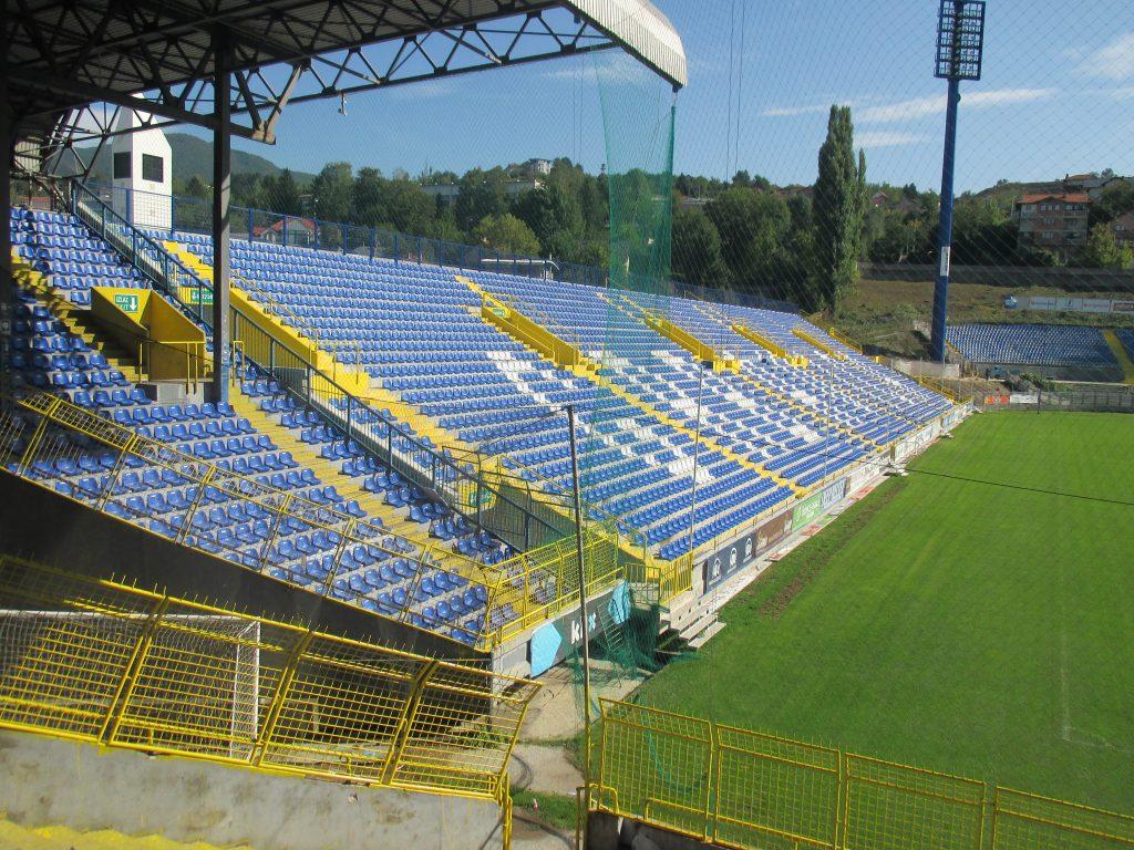 Sarajevo,stadion Grbavica(Željezničar Sarajevo)