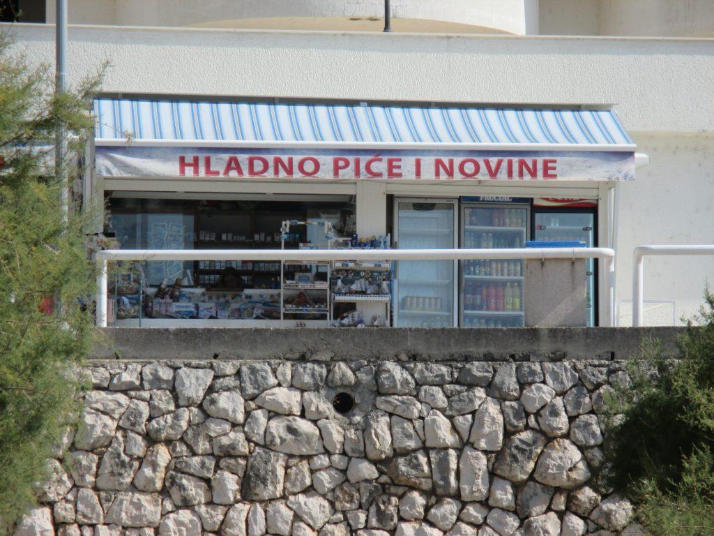 Neum,prodejna chlazených nápojů a novin :-)