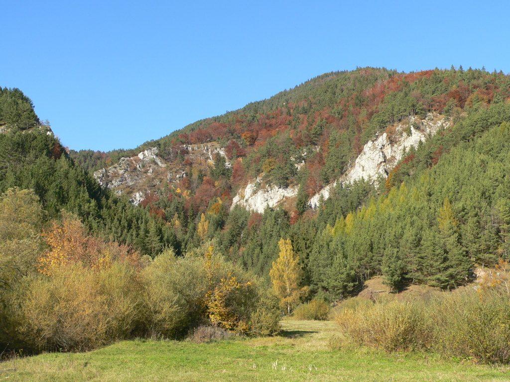 Prosiecká dolina,ústí