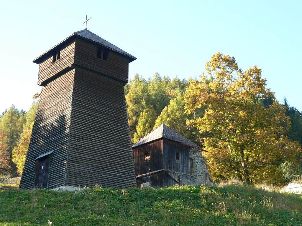Liptovská Anna,zvonice kostelíku Sv.Anny