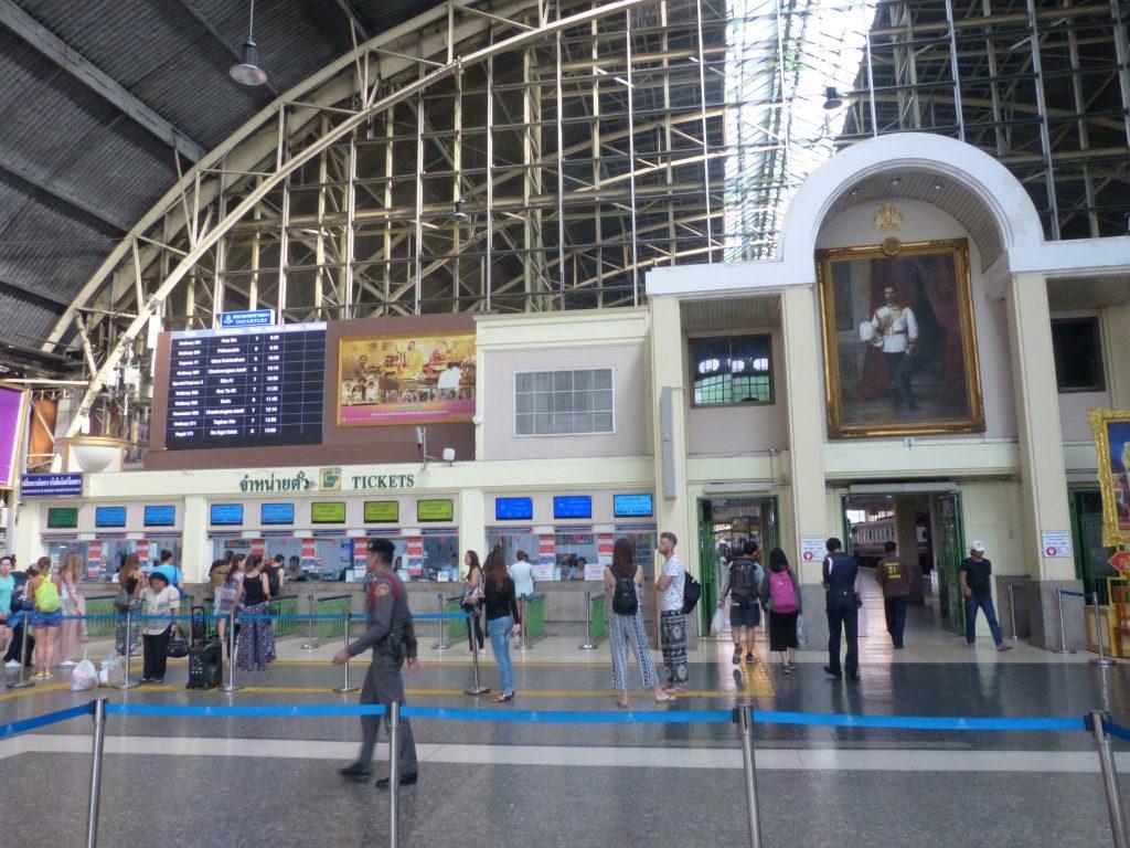 Bangkok,nádraží Hua Lamphong
