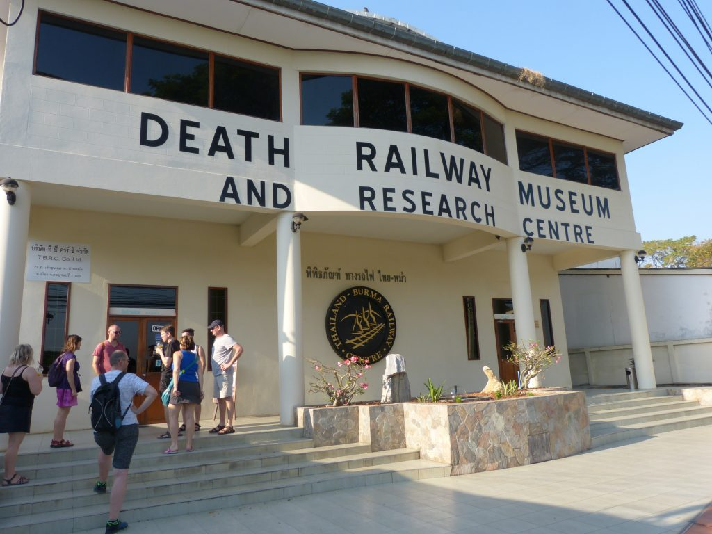 Kanchanaburi,Museum Železnice smrti