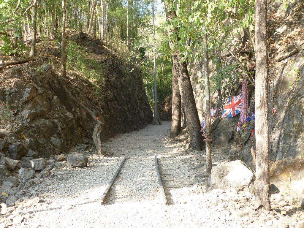 Hellfire Pass,železnice smrti