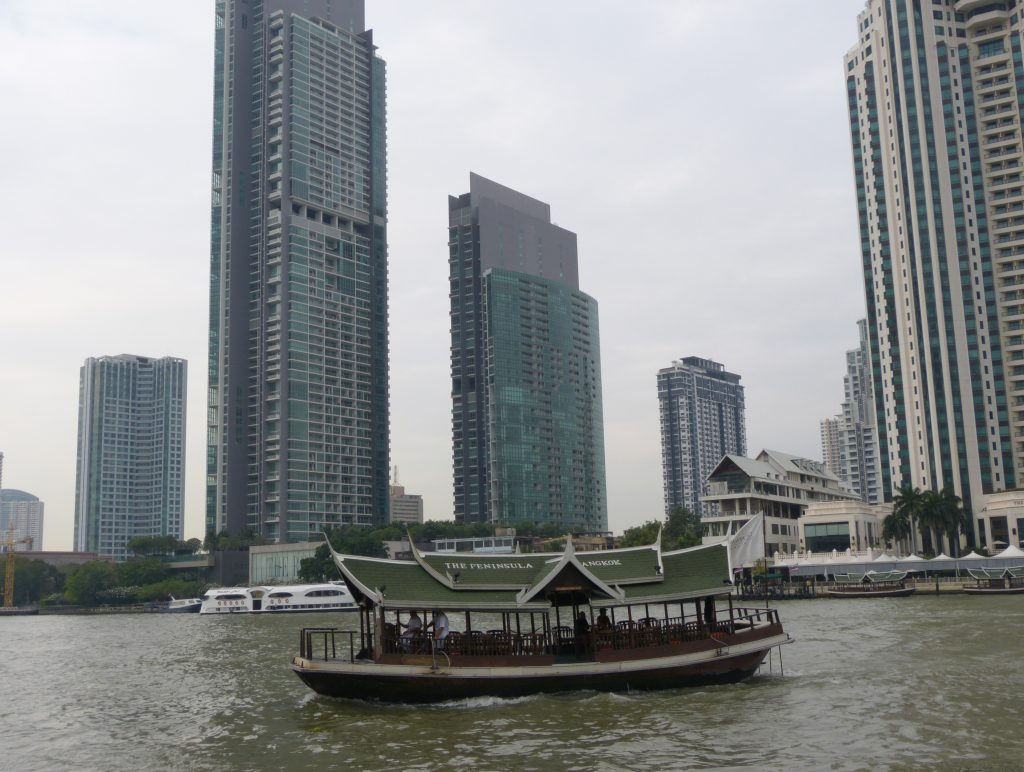 Bangkok,řeka Chao Phraya