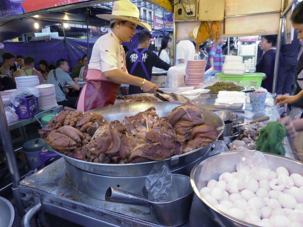 Chiang Mai,večerní trhy