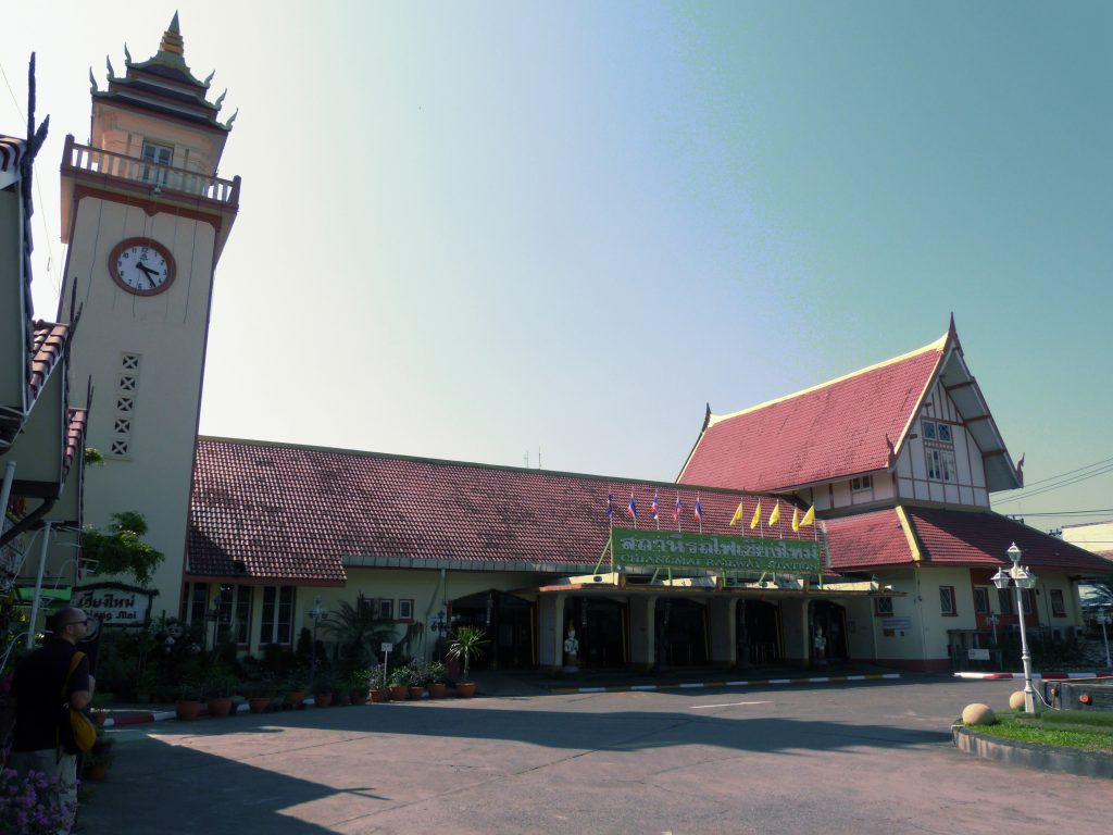 Chiang Mai,vlakové nádraží