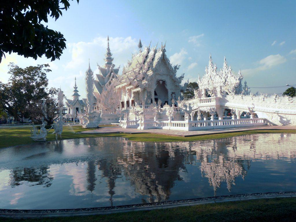 Chiang Rai,Wat Rong Khun(White Temple)