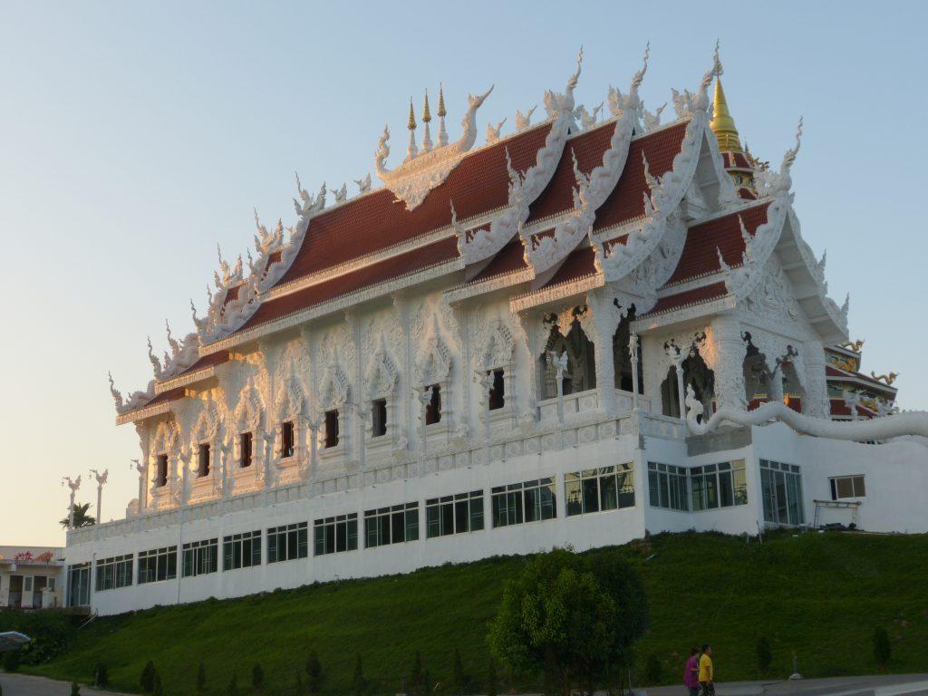 Chiang Rai,Wat Huay Plakang 9 Tier Temple