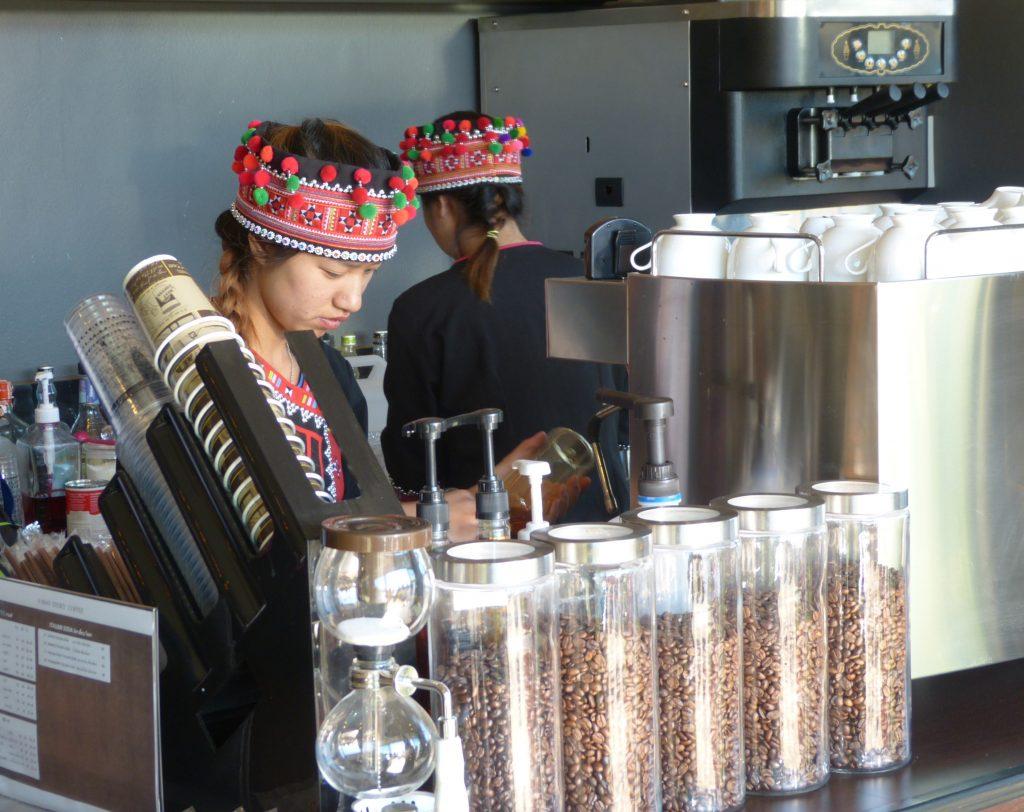 Mae Salong,kavárna