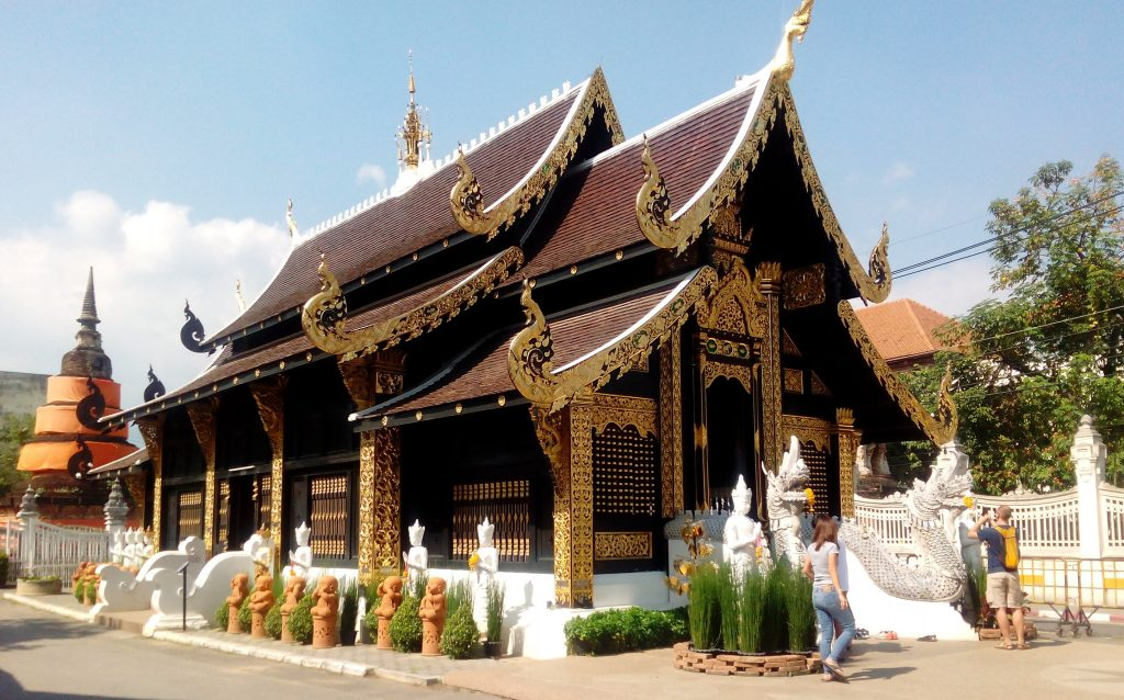 Chiang Mai,Wat Inthakhin Sadue Mueang
