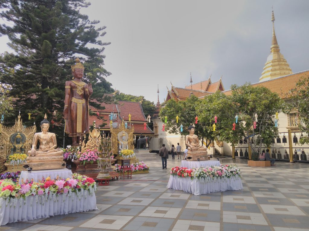 Chiang Mai,chrám Wat Phra That Doi Suthep