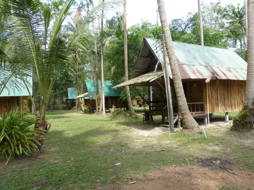 Koh Chang,bungalovy KP Hunt
