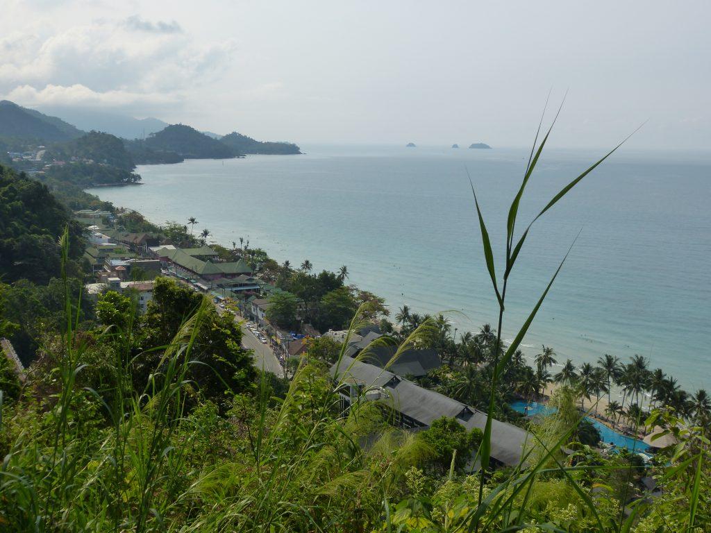 Koh Chang,vyhlídka nad White Beach