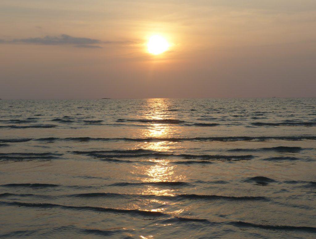Koh Chang,Khlong Prao,západ slunce