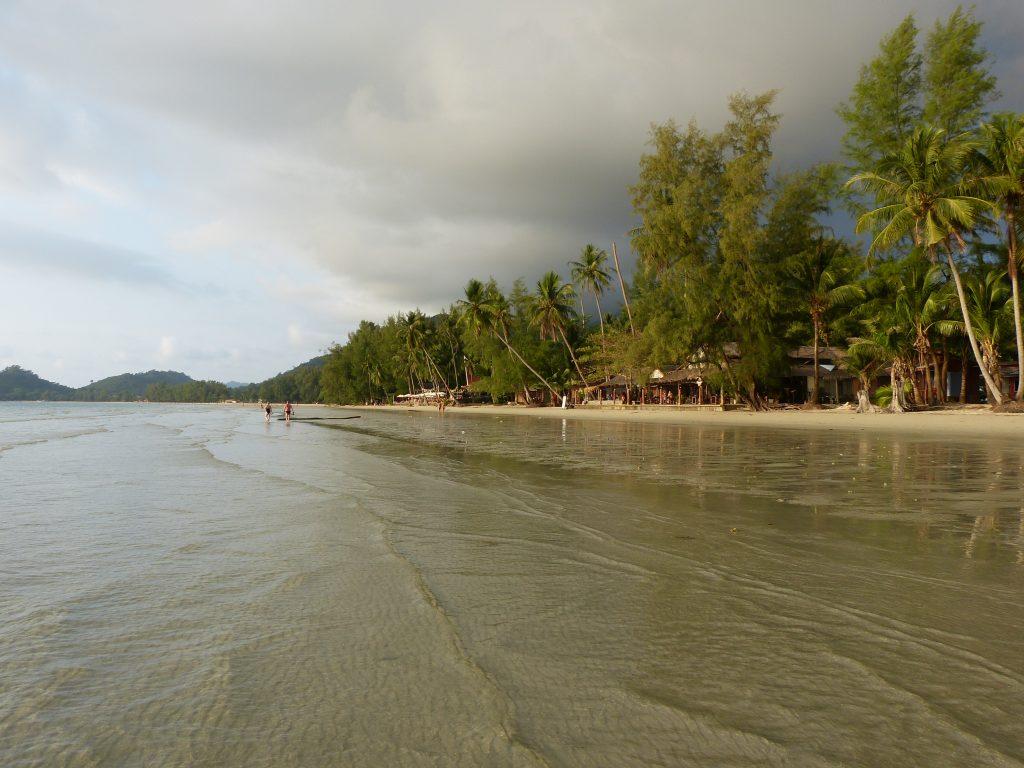 Koh Chang,pláž Khlong Prao