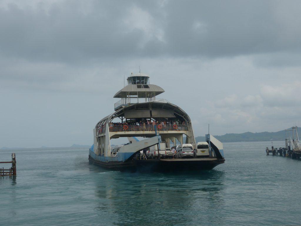 trajekt Koh Chang - Laem Ngop
