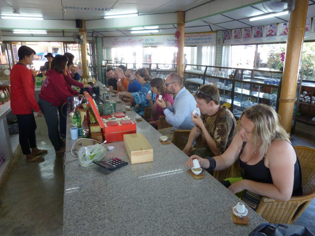 Mae Salong,101 Tea Plantation,ochutnávka čaje