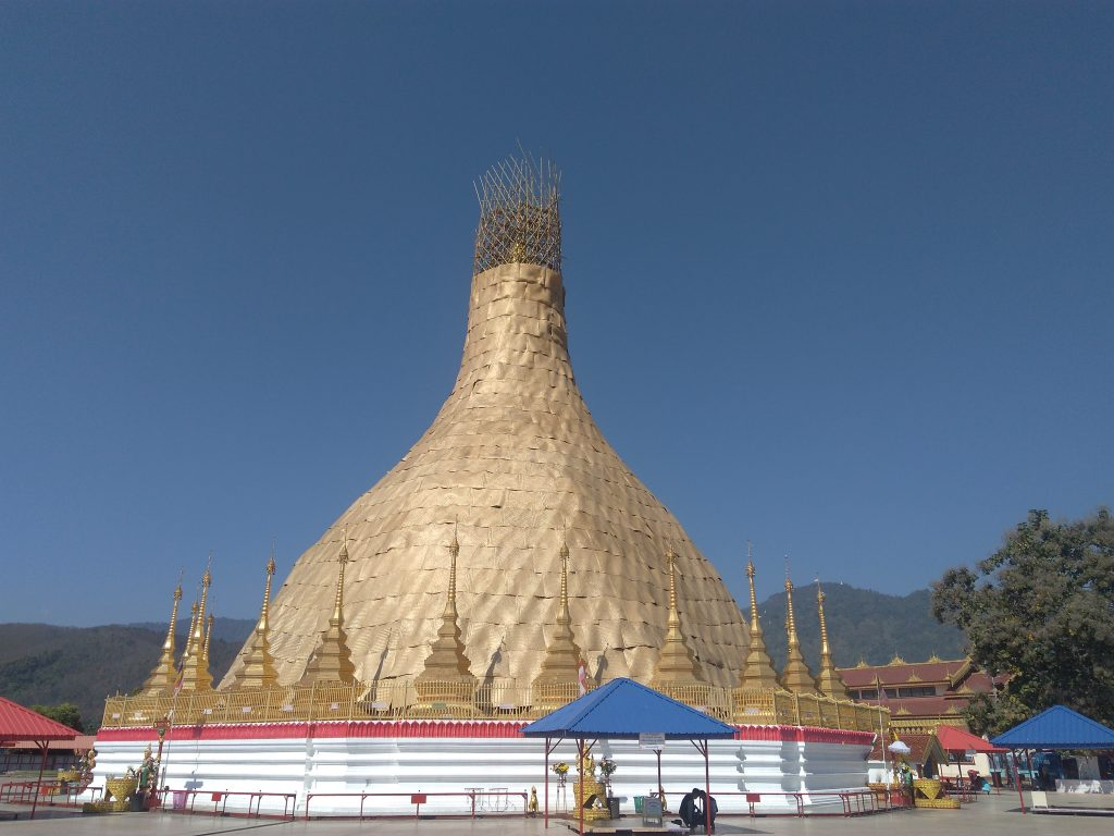 Myanmar,Tachileik Shwedagon Pagoda