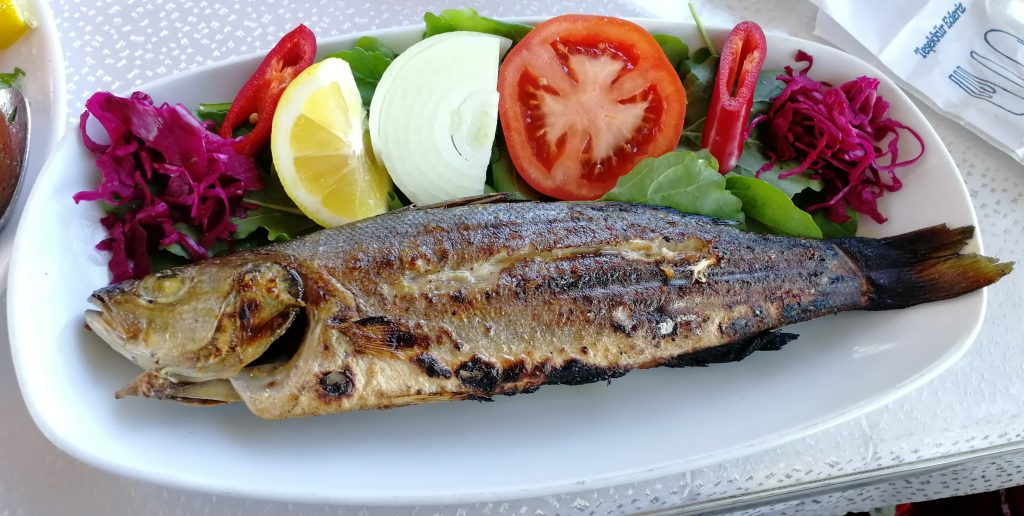 ostrov Büyükada,restaurace Lunapark,oběd
