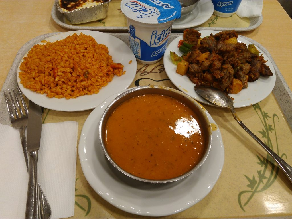 Balkansi Lokanta,oběd