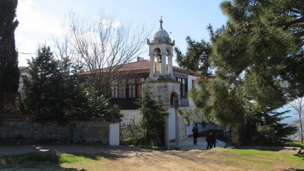 ostrov Büyükada,kostelík sv.Jiří