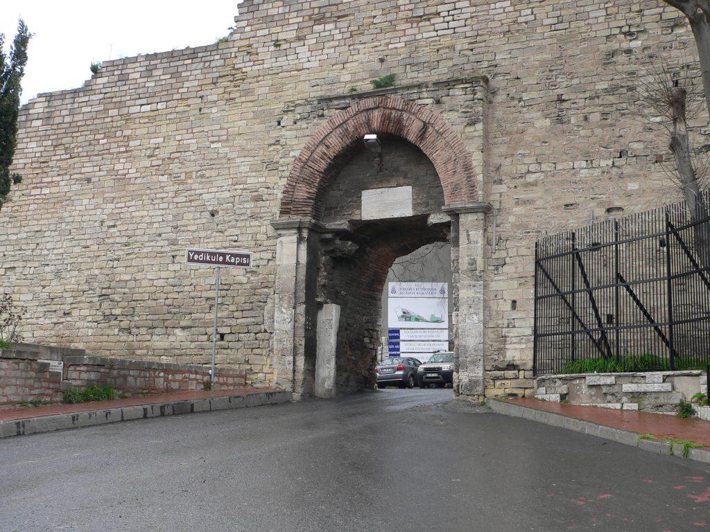 pevnost Yedikule
