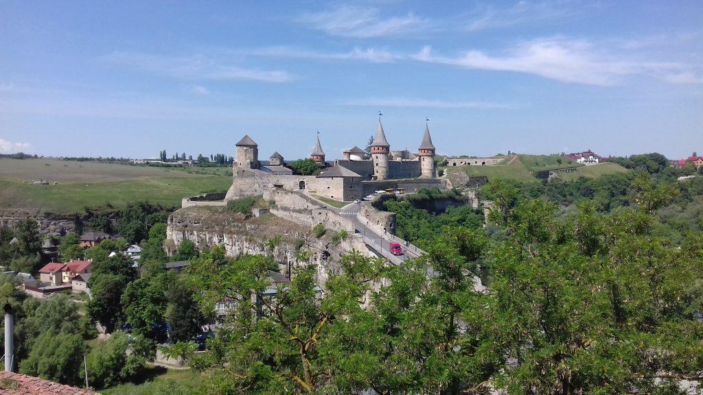 Kamenec Podolský,hrad