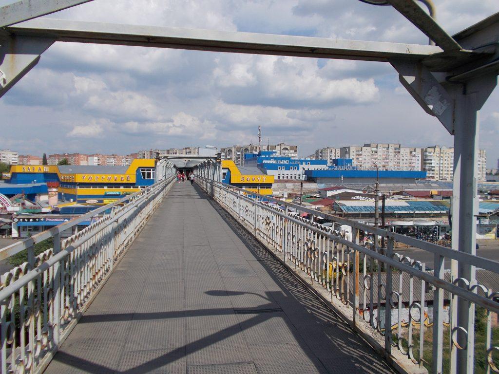 Luck,most spojující avtovokzal a vokzal