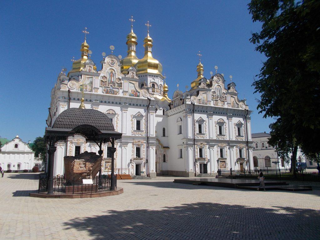 Kyjev,Kyjevskopečerská lávra,Uspenský chrám