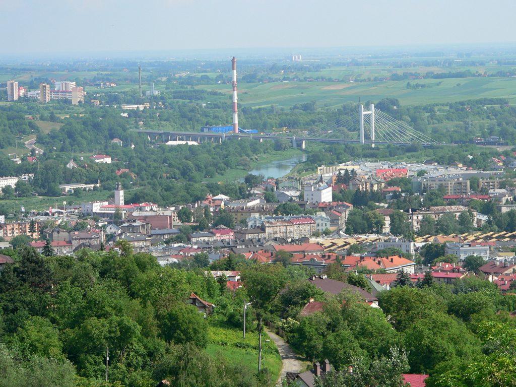 Přemyšl,výhled z Tatarského kopce