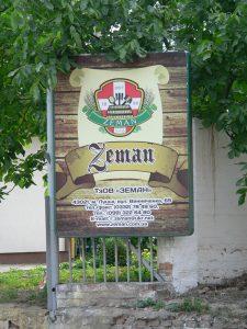 Luck,znak pivovaru Zeman