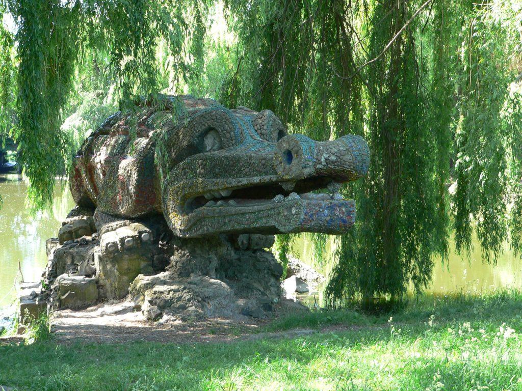 Rovno,krokodýl v Hidroparku