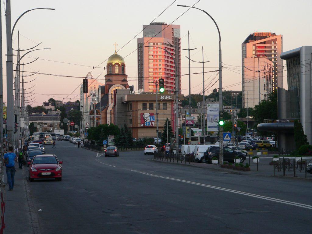 Kyjev,Polzunova třída