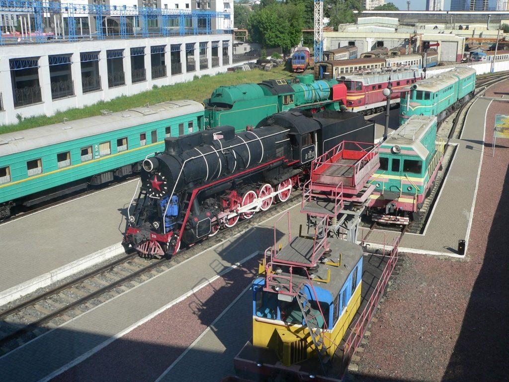 Kyjev-Pass,železniční muzeum
