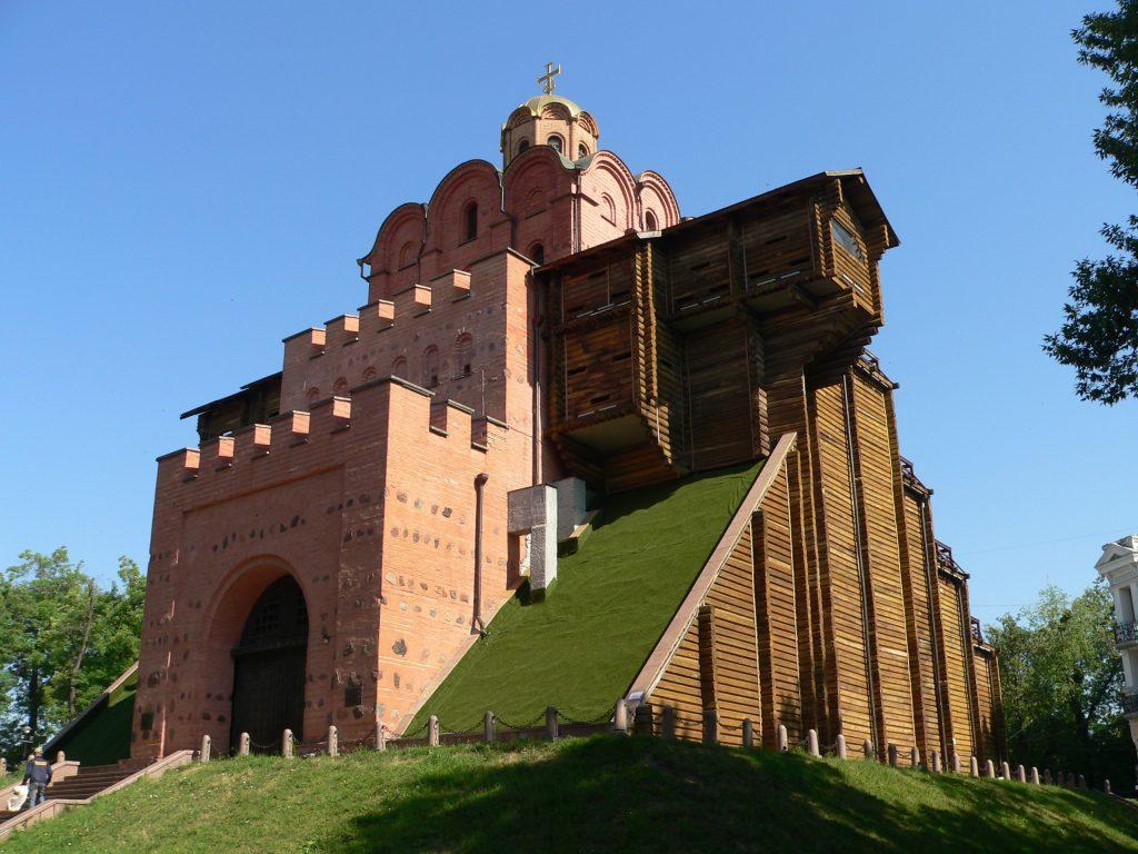 Kyjev,Zlatá brána